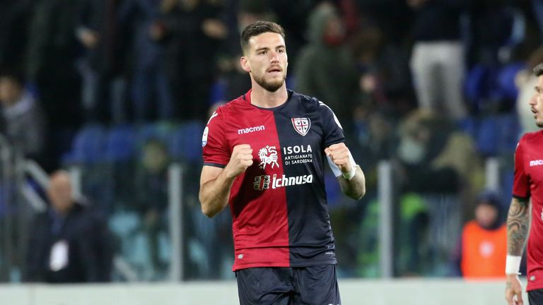 Luca Ceppitelli scored for Cagliari