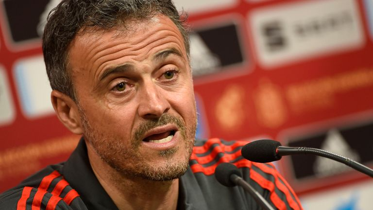 Spain boss Luis Enrique leaves role with assistant Robert Moreno replacing him