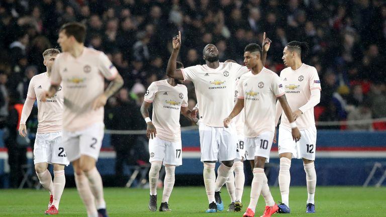 Image result for psg vs manchester united 1-3
