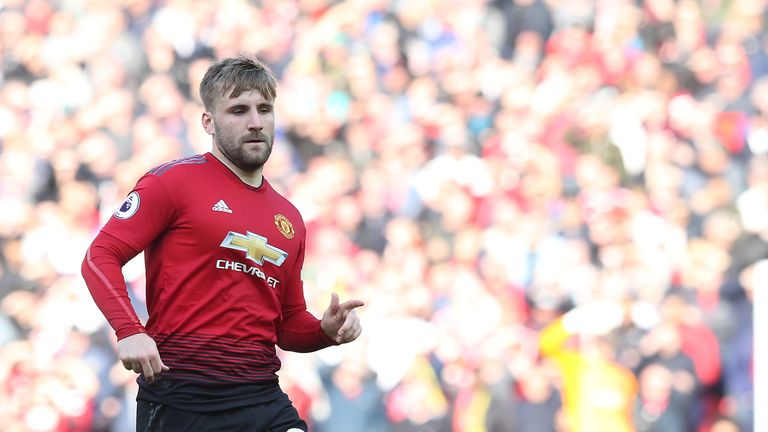 Luke Shaw has been one of Manchester United's best defenders this seasons