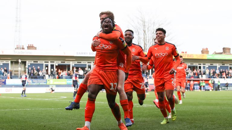 Luton will be in the Sky Bet Championship next season