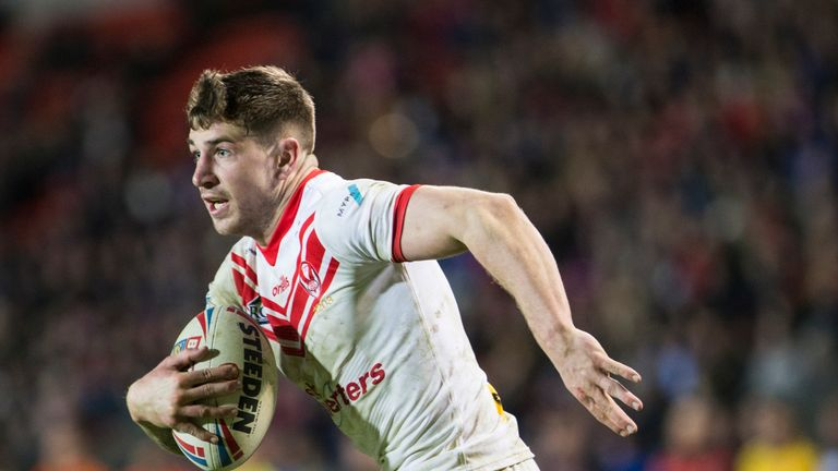 Mark Percival will be one of St Helens' key dangermen on Friday at the Jungle