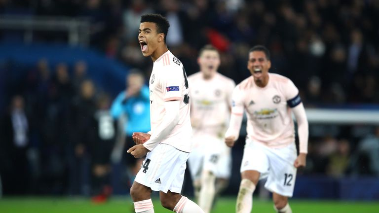 Mason Greenwood, just 17, has been given minutes by Solskjaer this season