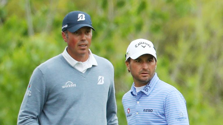 Kuchar (left) is already a two-time winner on the PGA Tour this season