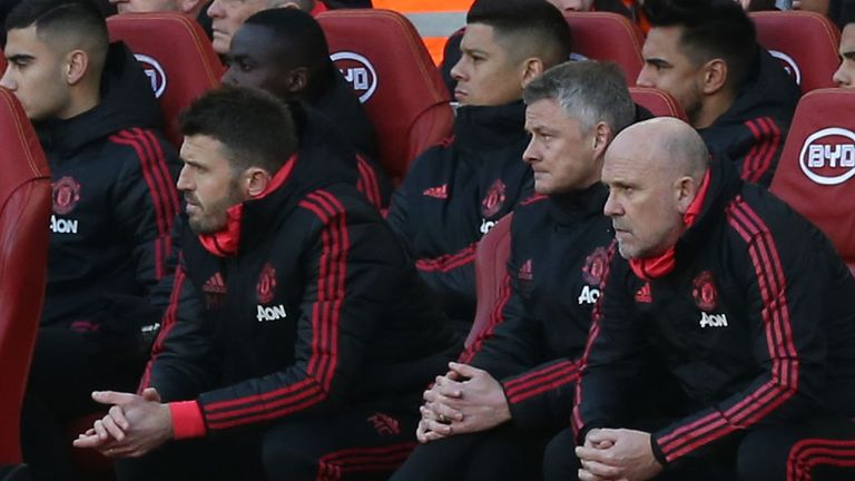 Ole Gunnar Solskjaer lost his first Premier League game as Man Utd caretaker manager on Sunday