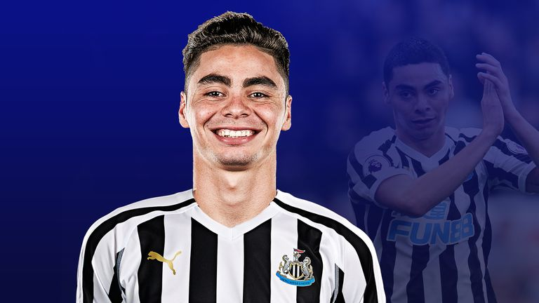 Newcastle's record signing Miguel Almiron is showing his quality already