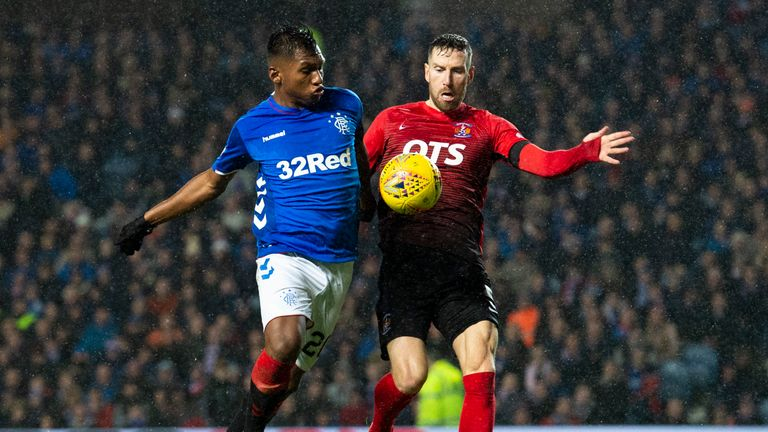Rangers' Alfredo Morelos and Kilmarnock's Kirk Broadfoot will not be cited by the  SFA