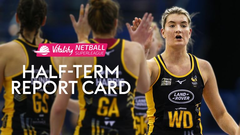 Vitality Netball Super League - Half-Term Report Card