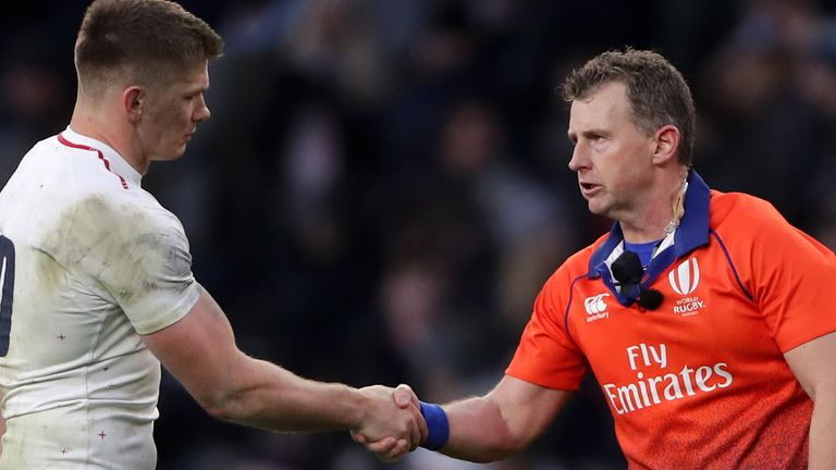 Nigel Owens has called time on his 17-year Test career