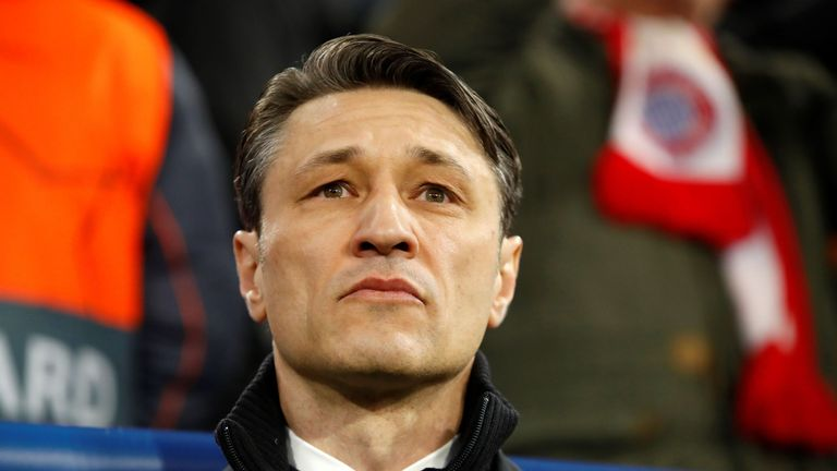 Niko Kovac has found himself under pressure in his first season as Bayern Munich manager