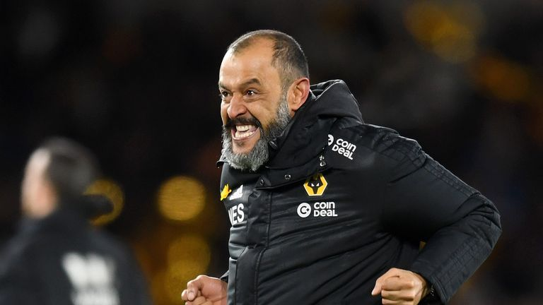 Nuno is enjoying a memorable debut campaign in the Premier League with Wolves