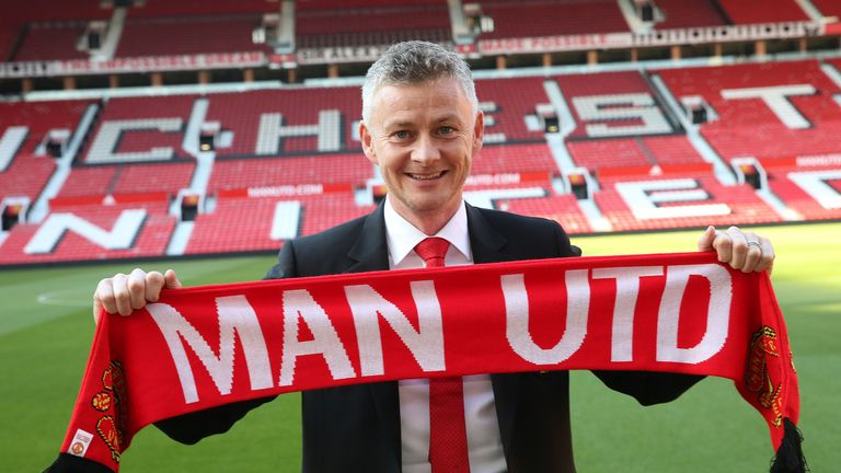 Solskjaer was handed a three-year deal on Thursday last week after a positive start to his caretaker manager role