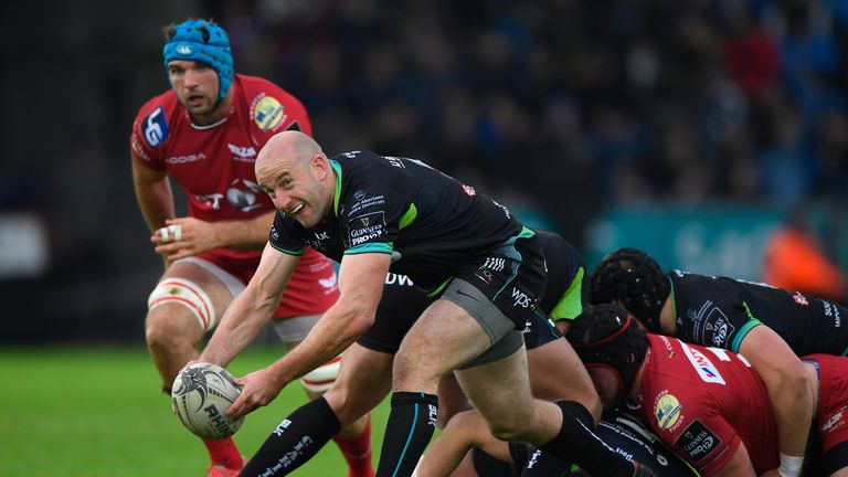 Ospreys have played down talk of imminent merger with Scarlets