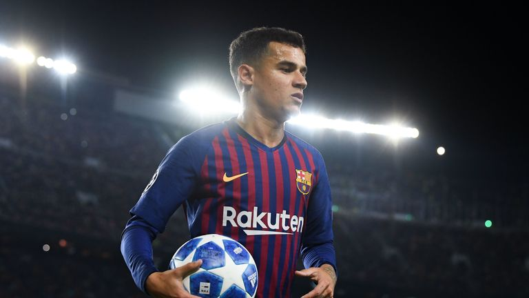 Philippe Coutinho has been linked with a move to United in recent months