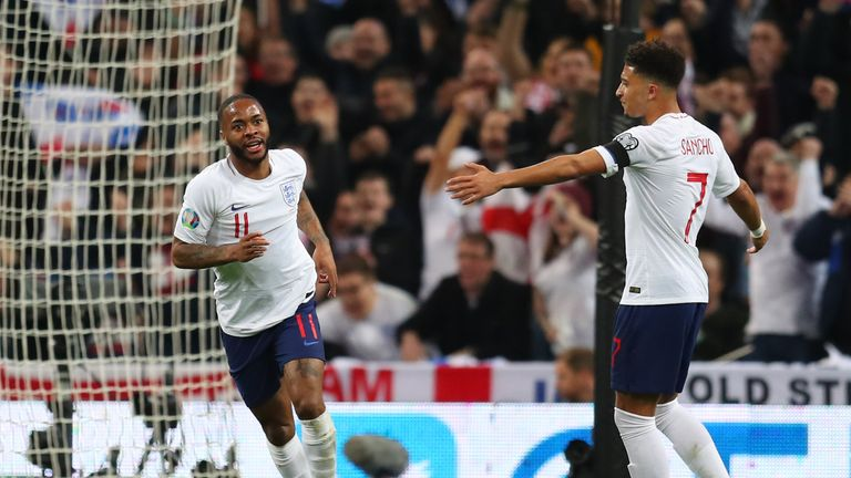Gareth Southgate says England hat-trick hero Raheem Sterling was devastating