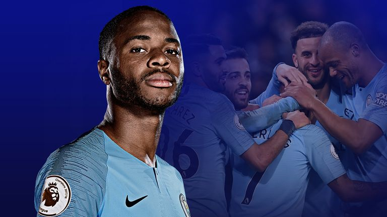 8006c0664 Raheem Sterling scored a hat-trick for Manchester City against Watford