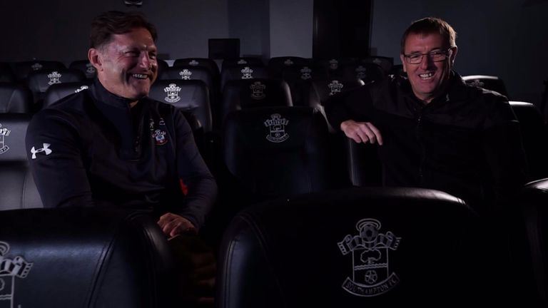 Matt Le Tissier spoke with Southampton manager Ralph Hasenhuttl ahead of their game against Brighton on Saturday