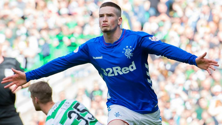 Ryan Kent was named Rangers' Young Player of the Season