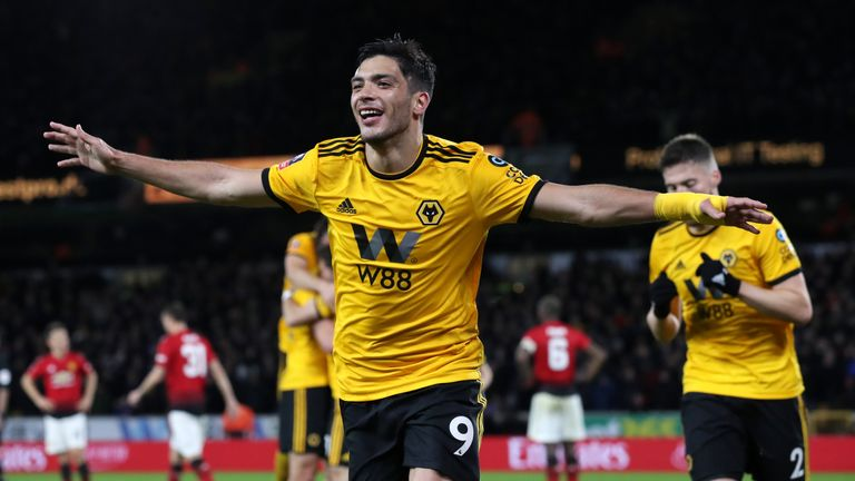 Raul Jimenez has scored 15 goals for Wolves this season