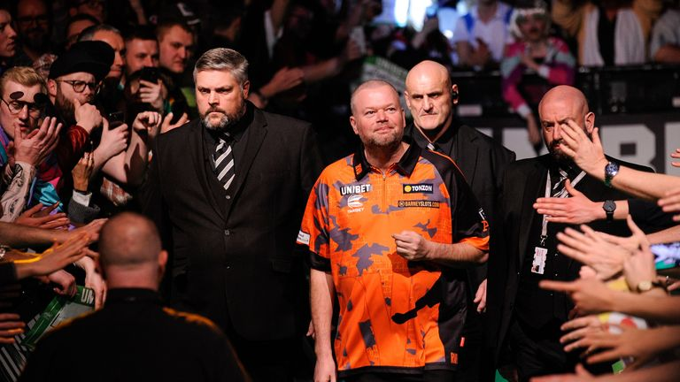 Van Barneveld has been included in the line-up for the German Darts Masters