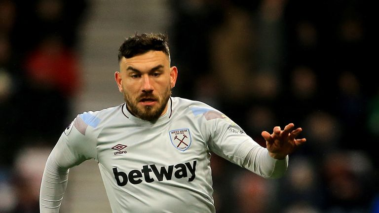 West Ham's Robert Snodgrass charged by FA