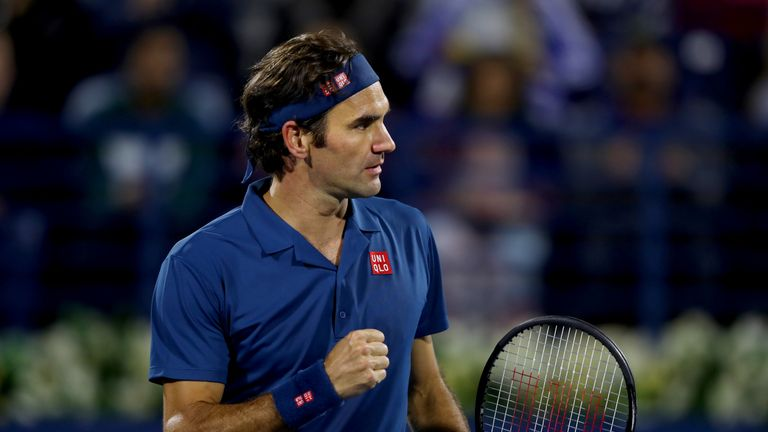 Roger Federer claimed the 100th ATP singles title of an incredible career by beating Stefanos Tsitsipas to win the Dubai Duty Free Tennis Championship