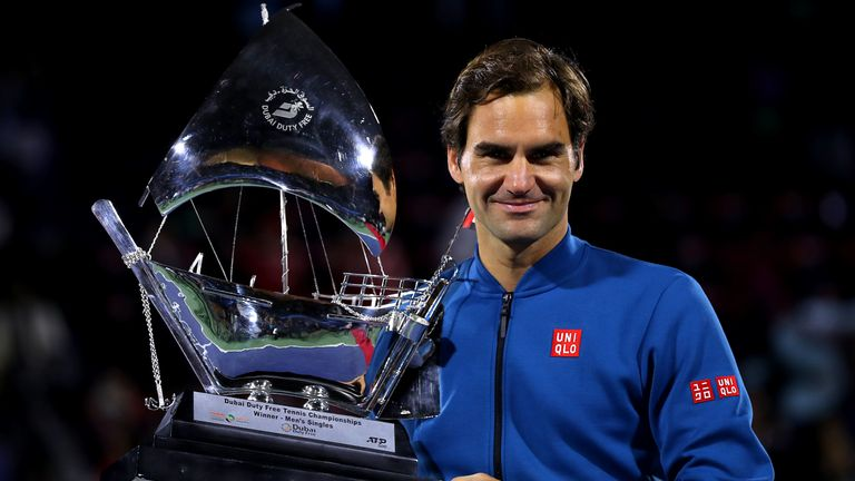 Federer looks in shipshape condition after his triumph in Dubai