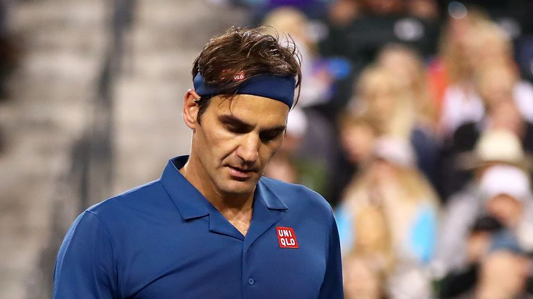 4c910a21da5c3 Roger Federer and Rafael Nadal into quarter-finals of BNP Paribas Open in Indian  Wells