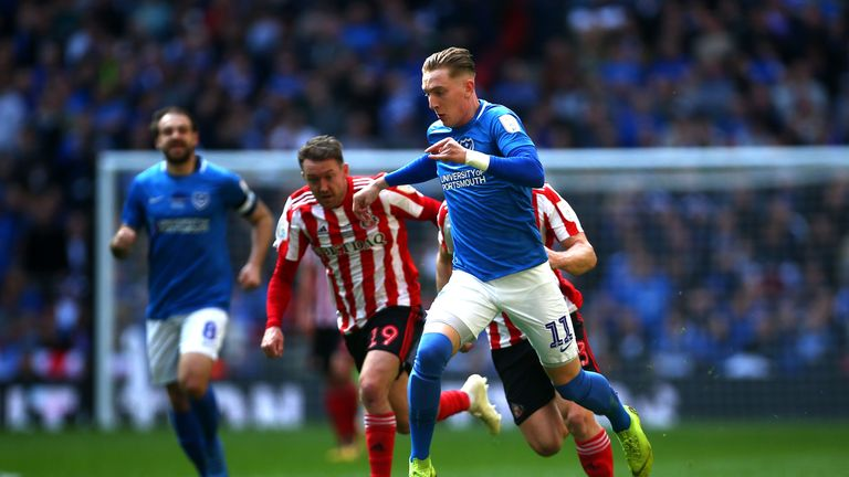 Sunderland face Portsmouth in the play-offs
