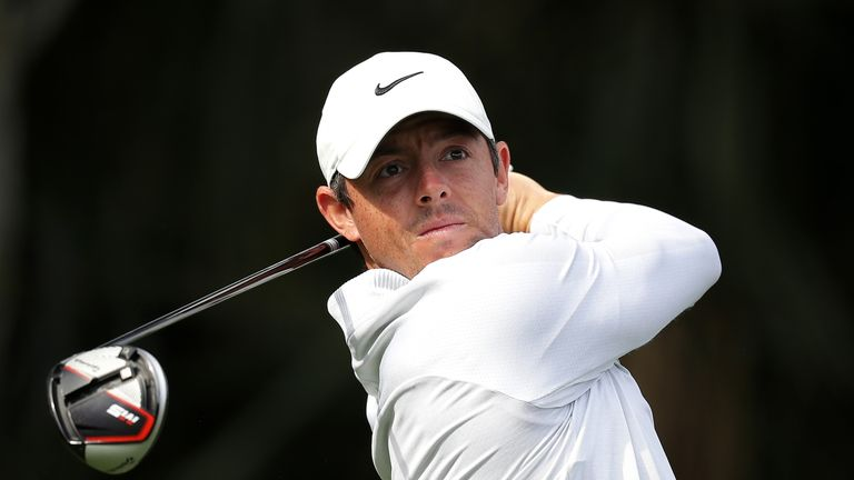 McIlroy is chasing a maiden Players Championship victory