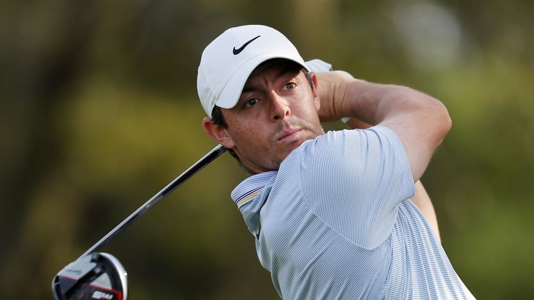 Rory McIlroy kept a bogey off his card for only the second time at TPC Sawgrass