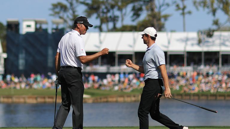 McIlroy played alongside Matt Kuchar on Thursday