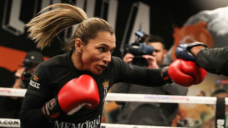 WBO champion Rose Volante stand in the way of Taylor's plans