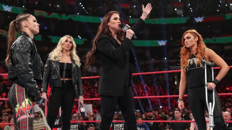 It is widely anticipated that Ronda Rousey and Charlotte Flair will stage the first women's match to be the WrestleMania main event this year