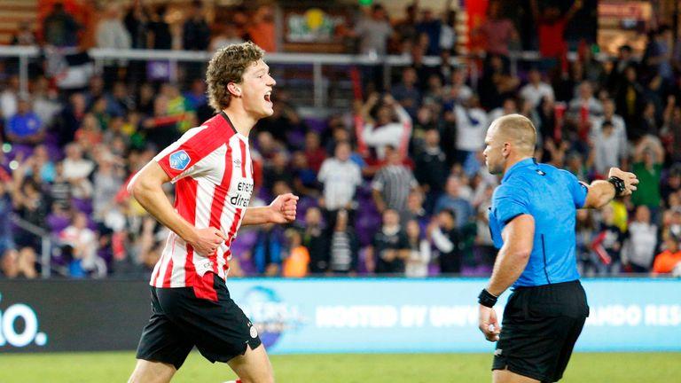 Sam Lammers, 21, is on a season-long loan from PSV