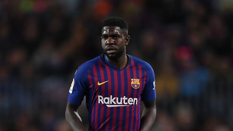 Samuel Umtiti is reportedly on Arsenal's radar this summer