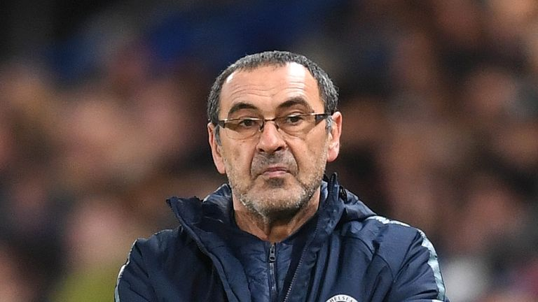 Maurizio Sarri has led Chelsea to three straight wins