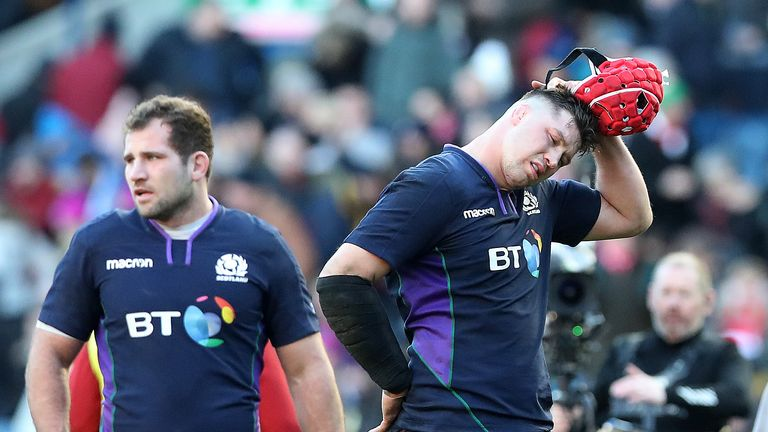 Scotland are fourth in the Six Nations after losing three of their four games