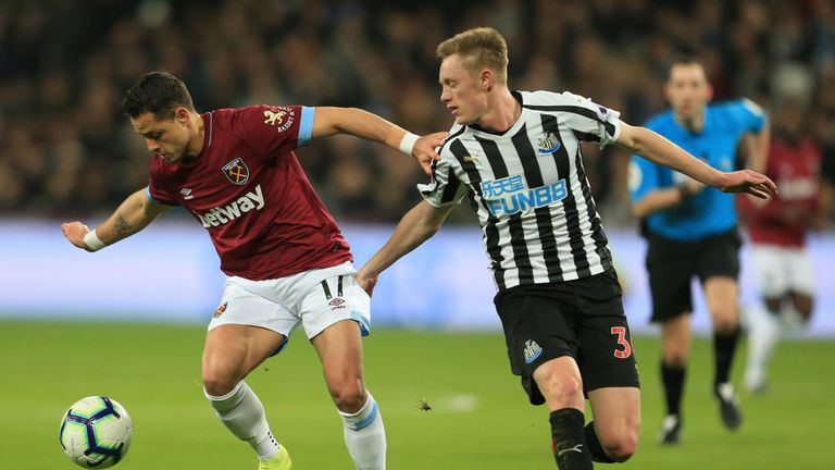Sean Longstaff has been ruled out for up to four months by knee ligament damage