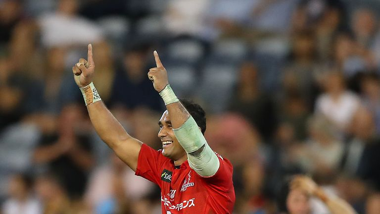 Semisi Masirewa notched a hat-trick in the stunning victory at the Waratahs