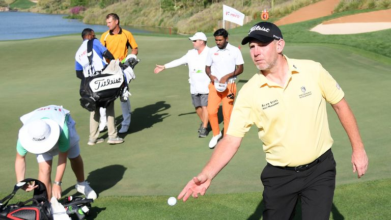 Gallacher recovered from a quadruple-bogey during the final round