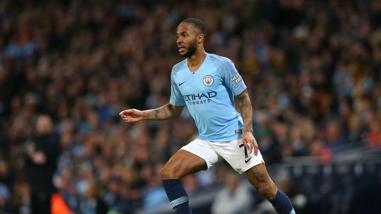 Raheem Sterling scored a hat-trick against Watford at the weekend