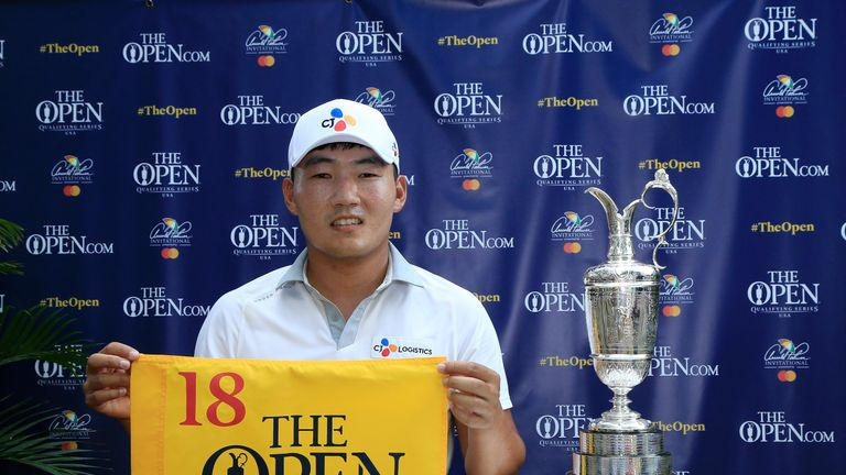 Sung Kang has previously qualified for The Open at the Quicken Loans National on the PGA Tour in 2017 and 2018