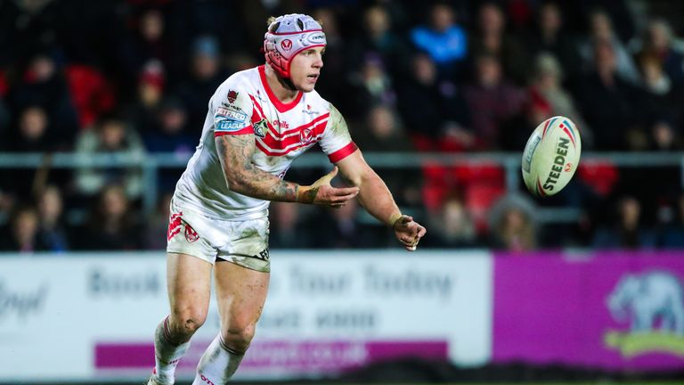 Theo Fages stood out as St Helens comprehensively saw off London