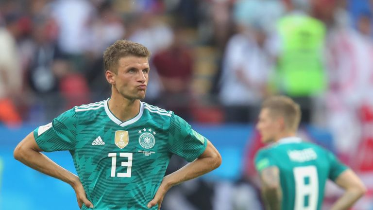 Muller was axed by Germany coach Joachim Low