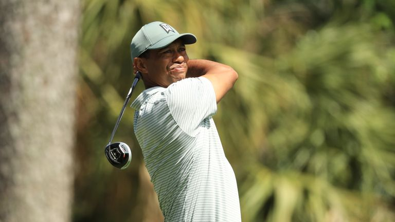 Woods made just one par in his back nine at the 15th