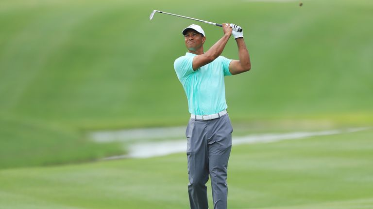 Woods admitted he was unaware he could have saved himself three shots on the 17th on Friday