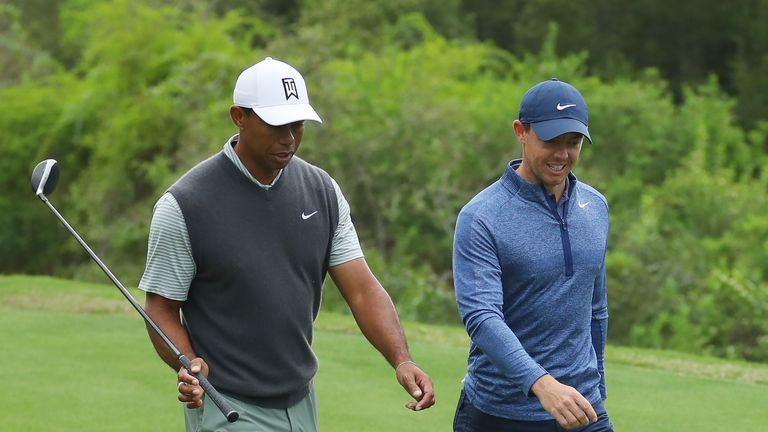 Woods and McIlroy had never previously met in competitive match play