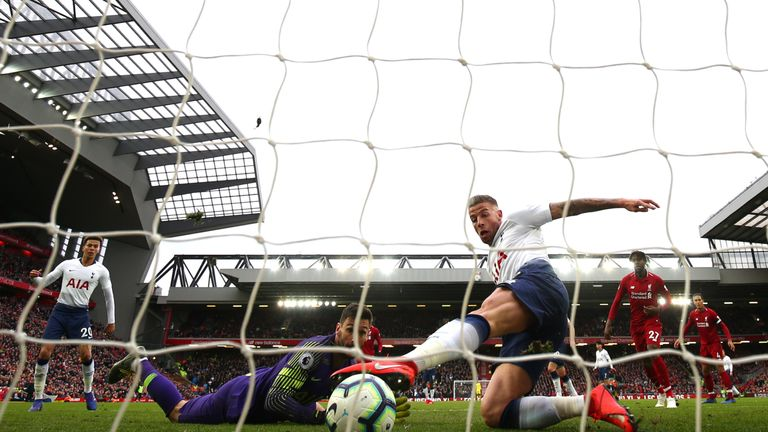 Liverpool narrowly defeated Tottenham on Sunday, courtesy of a 90th-minute Toby Alderweireld own goal