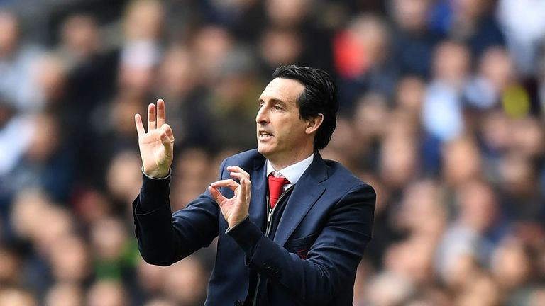 Unai Emery says his striker pairing are 'perfect' for Arsenal